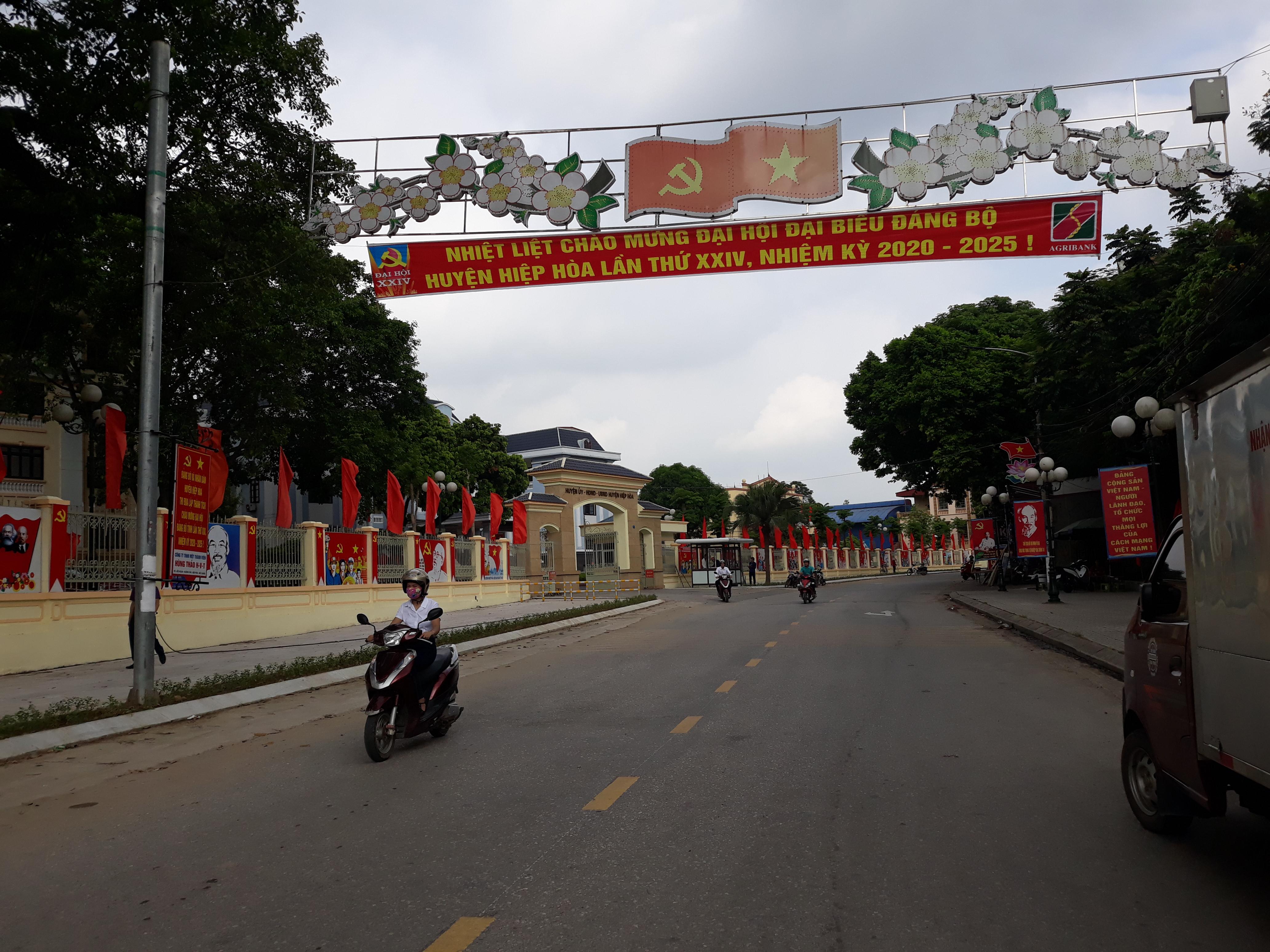 Huyện Hiệp Hòa - Bắc Giang: Sẵn sàng tổ chức Đại hội đại biểu Đảng bộ nhiệm kỳ 2020-2025 - Ảnh 1