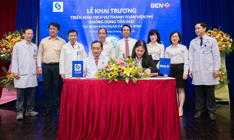 BIDV và Bệnh viện Nhân dân Gia Định triển khai dịch vụ thanh toán viện phí không dùng tiền mặt  - Ảnh 2