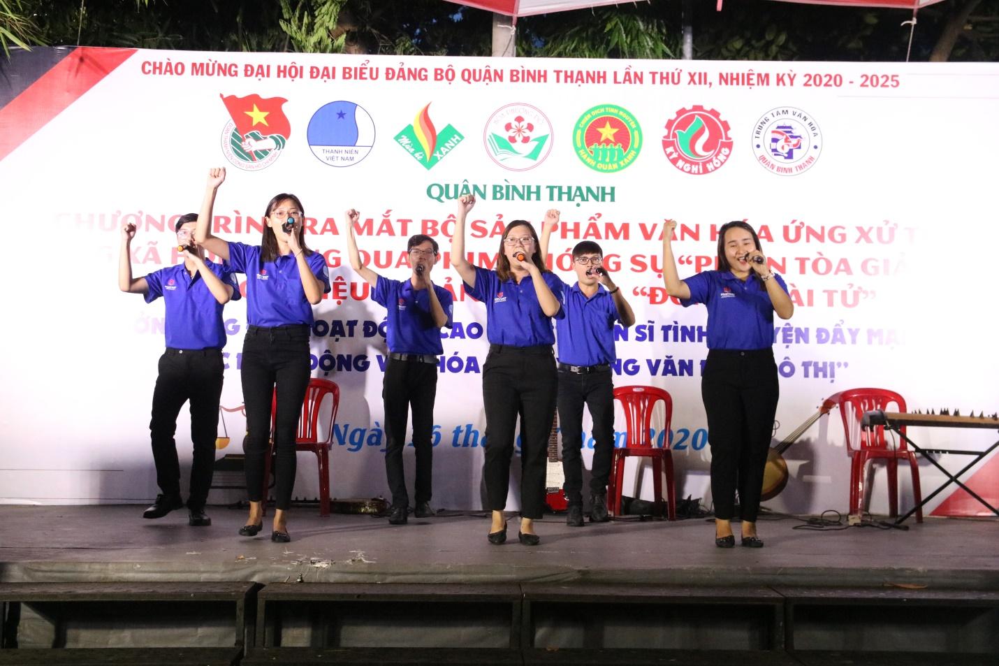 Ban chỉ huy các chiến dịch tình nguyện hè quận Bình Thạnh năm 2020 ra mắt bộ sản phẩm văn hóa ứng xử trên mạng xã hội  - Ảnh 1