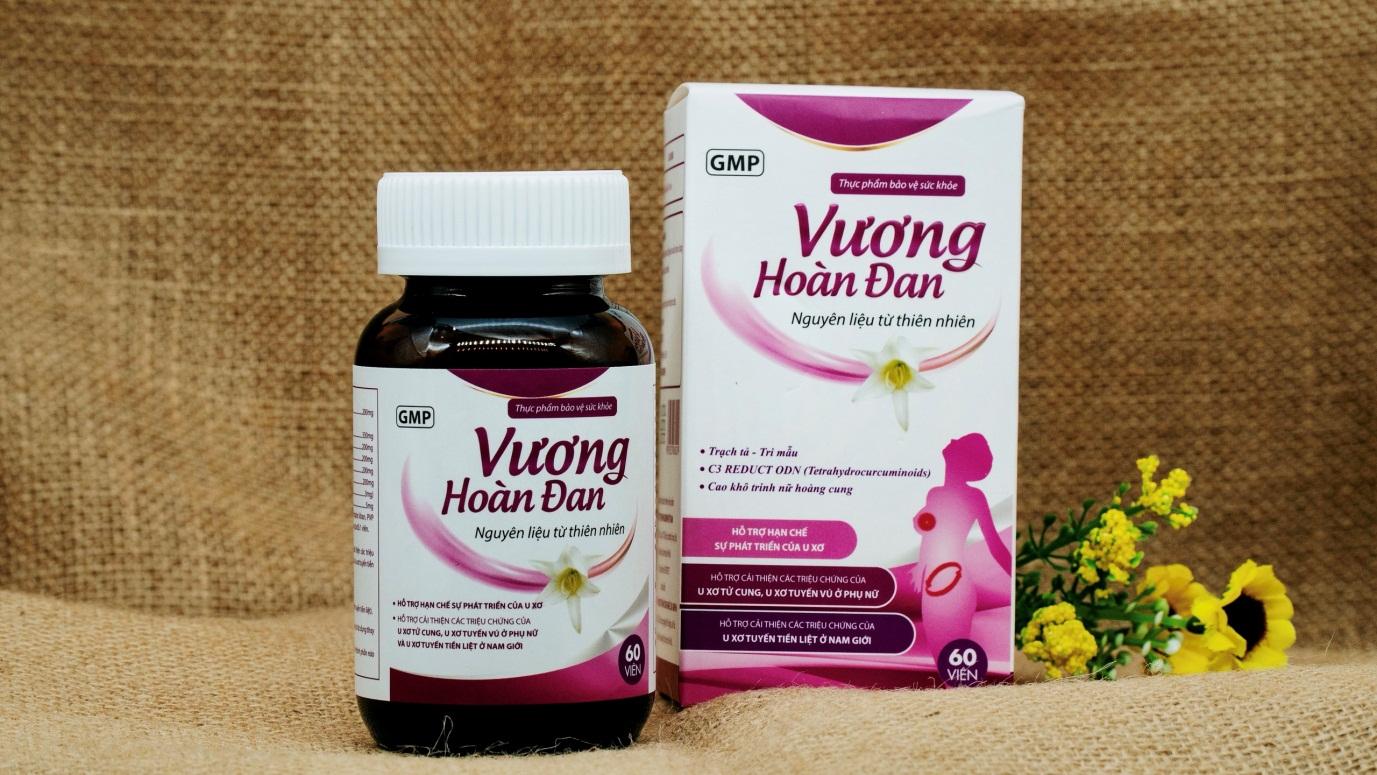 TPBVSK Vương Hoàn Đan - giải pháp hỗ trợ giảm triệu chứng u xơ - Ảnh 2