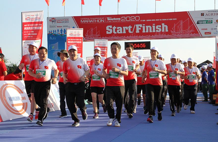 Lan tỏa thương hiệu Agribank tại Giải Vô địch Quốc gia Marathon và cự ly dài báo Tiền Phong năm 2020  - Ảnh 1
