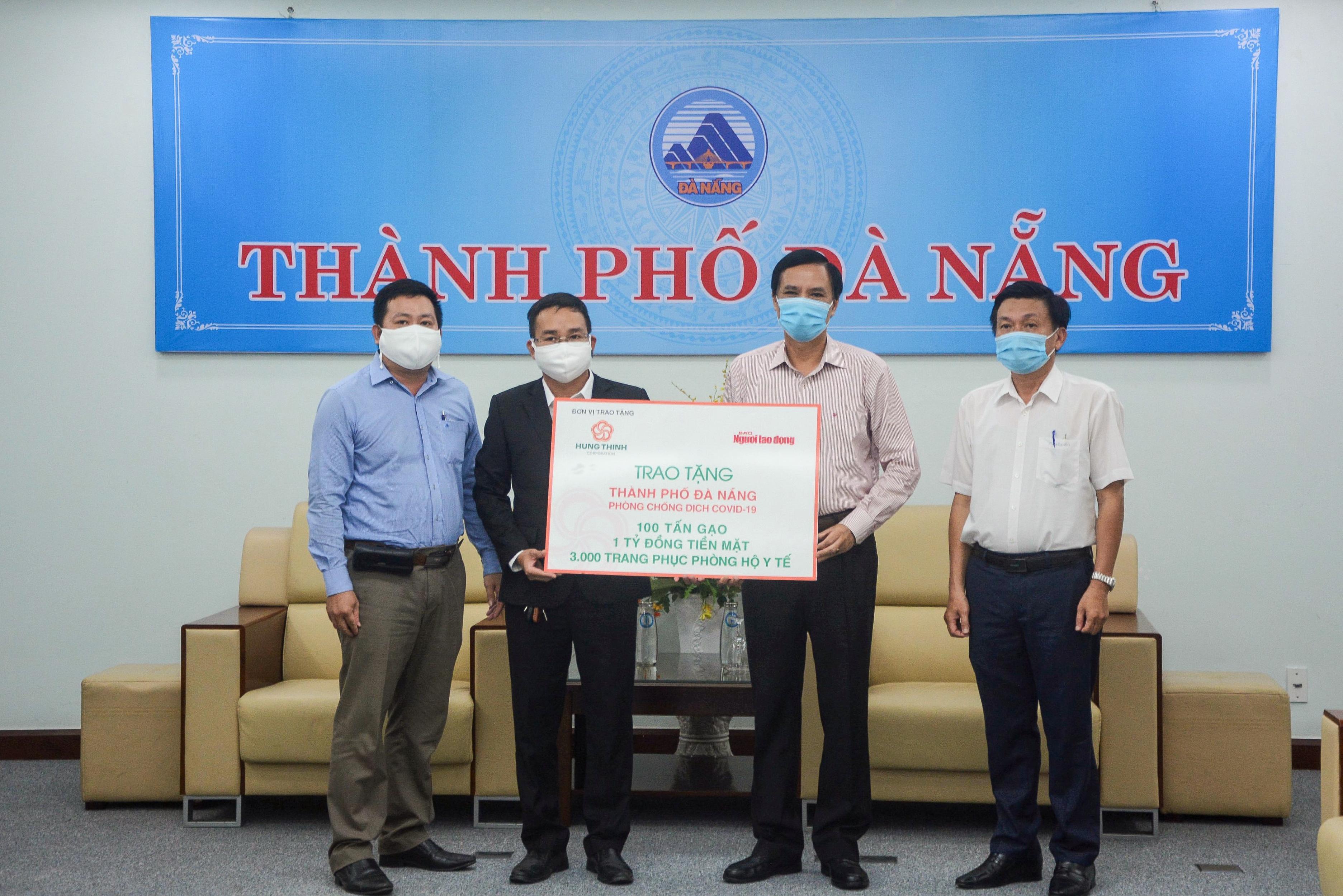 Tập đoàn Hưng Thịnh tiếp sức TP.Đà Nẵng và tỉnh Quảng Nam phòng chống dịch Covid-19  - Ảnh 3
