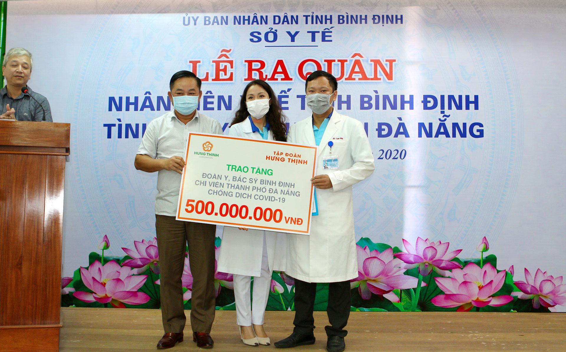Tập đoàn Hưng Thịnh tiếp sức TP.Đà Nẵng và tỉnh Quảng Nam phòng chống dịch Covid-19  - Ảnh 5