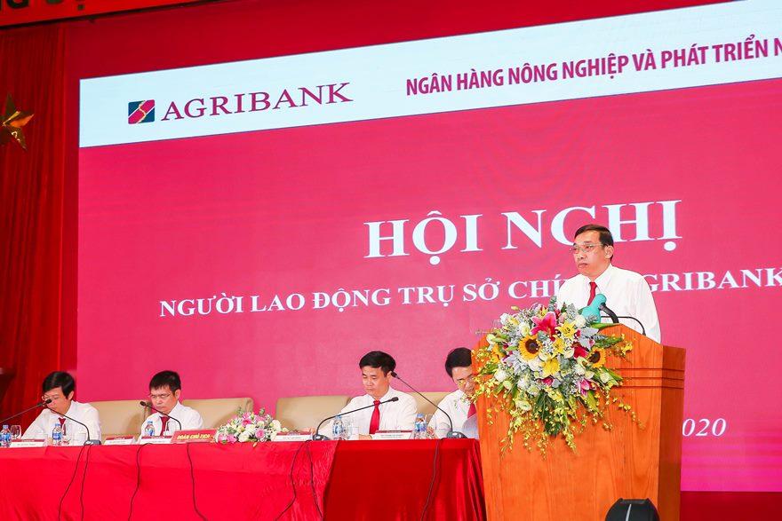 Trụ sở chính Agribank tổ chức Hội nghị người lao động năm 2020  - Ảnh 1