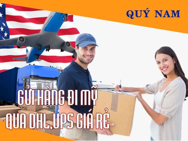 Dịch vụ gửi hàng đi Mỹ, chuyển phát nhanh quốc tế DHL, UPS giá rẻ - Ảnh 1