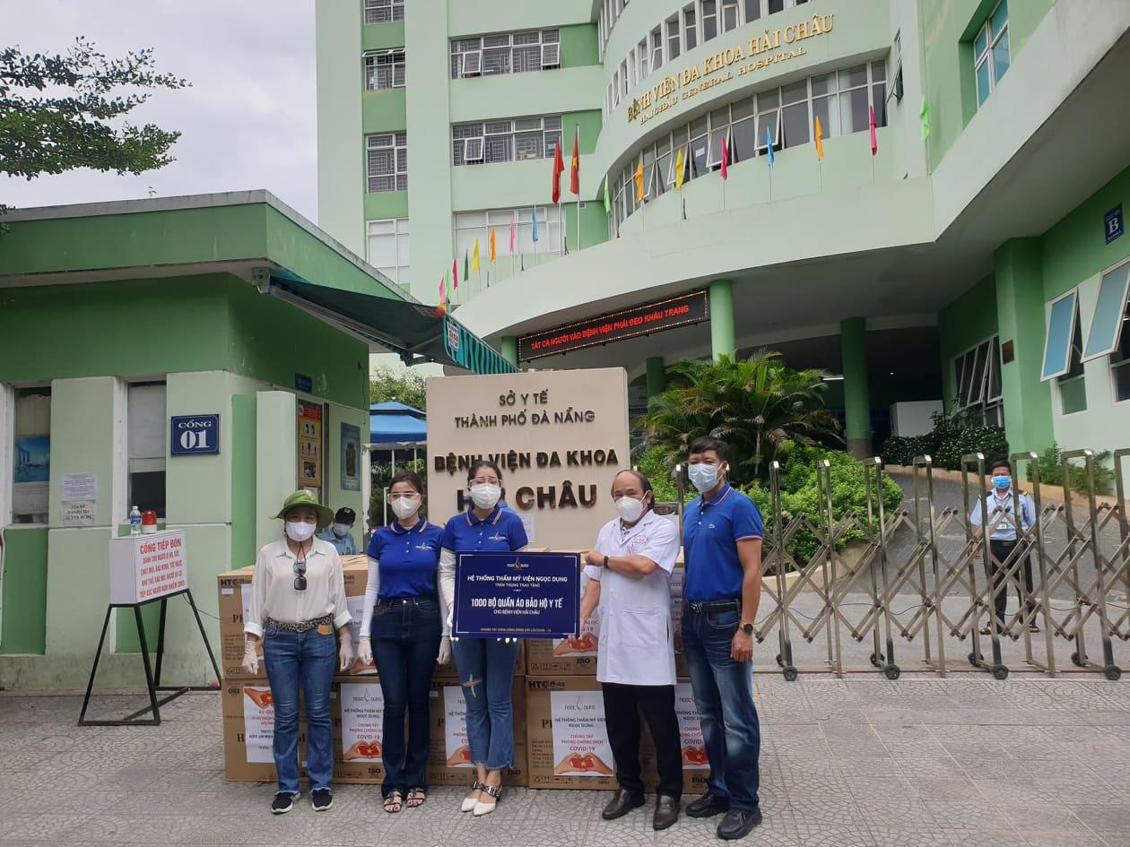 Đà Nẵng: 7 bệnh viện tiếp nhận 7.000 bộ đồ bảo hộ - Ảnh 2