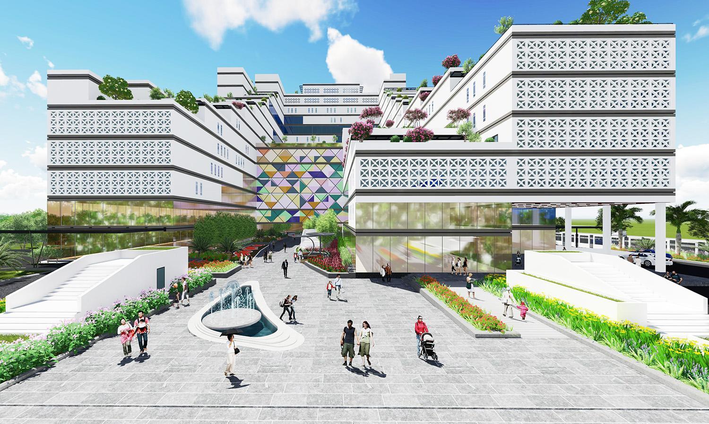 Sắp có bệnh viện xanh - thông minh, tiêu chuẩn Anh Quốc giữa lòng Hà Nội  - Ảnh 1