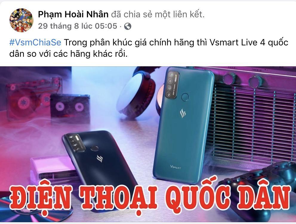 Vsmart Live 4 đạt doanh số 10.000 máy sau 3 ngày mở bán - Ảnh 2