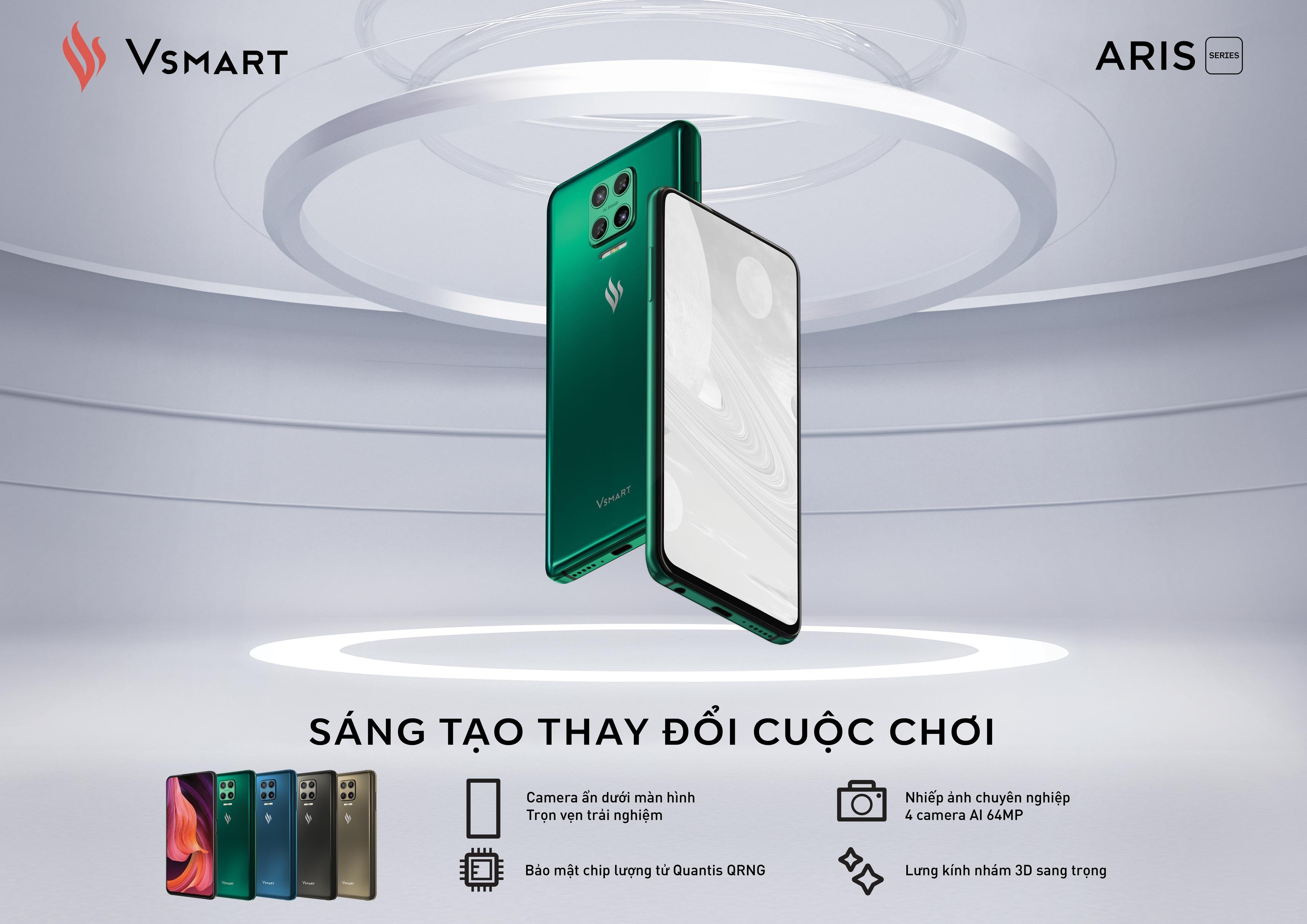 VinSmart ra mắt Aris Pro – Điện thoại camera ẩn đầu tiên tại Việt Nam - Ảnh 2