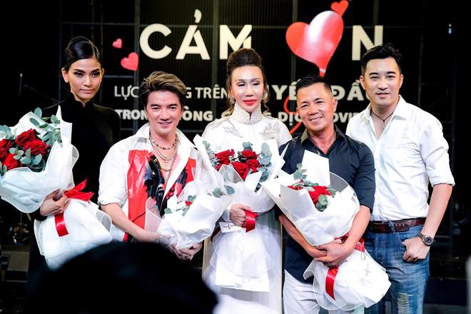 Hoa hậu Nhân ái Đỗ Lan 'tái xuất' với những màn đấu giá kinh điển - Ảnh 1