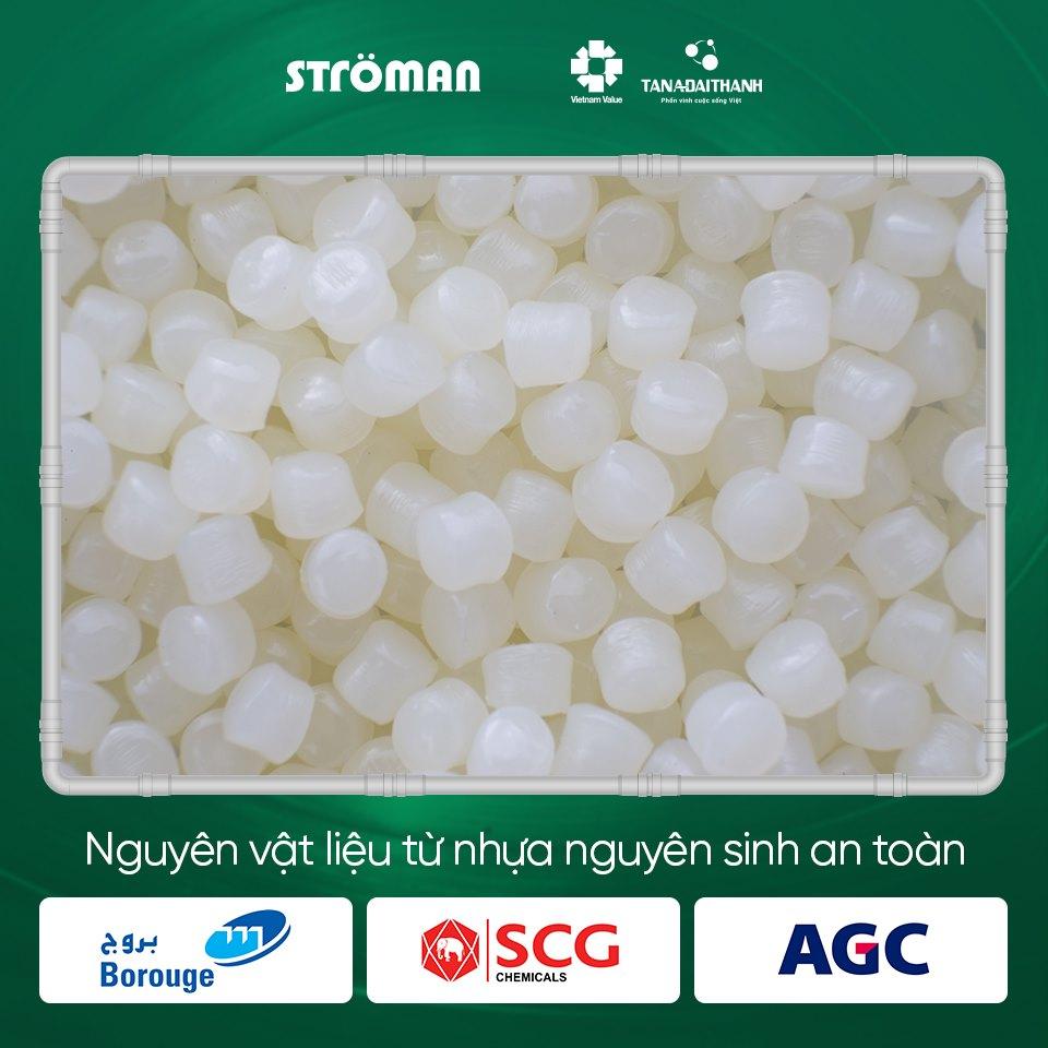 Bí quyết tạo ra ống nhựa STRÖMAN an toàn và bền bỉ - Ảnh 1