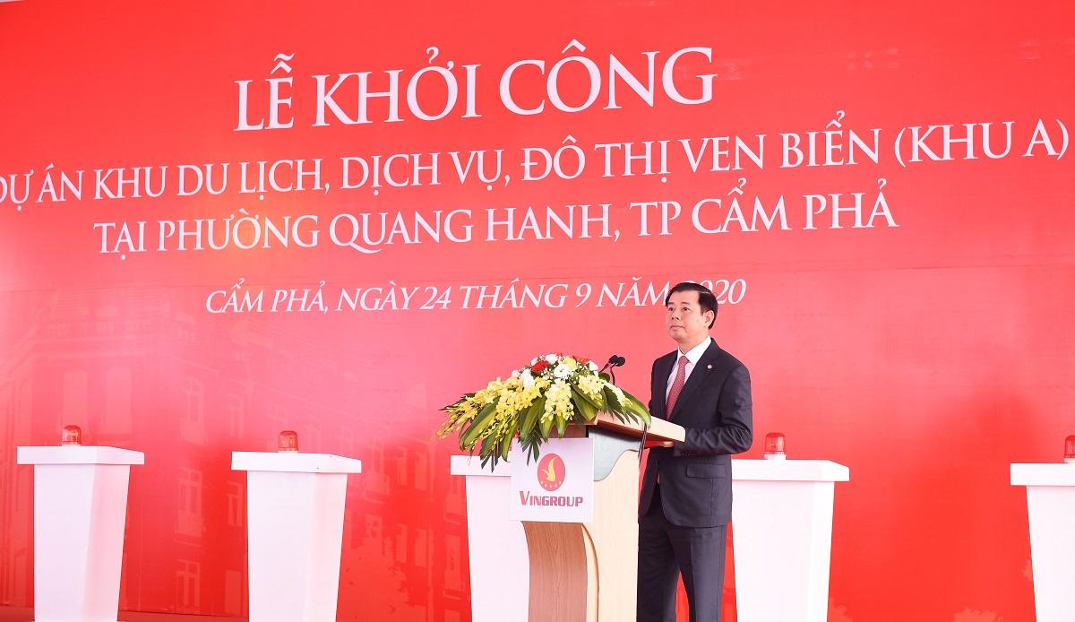 Vingroup khởi công khu du lịch, dịch vụ, đô thị ven biển Quang Hanh  - Ảnh 3