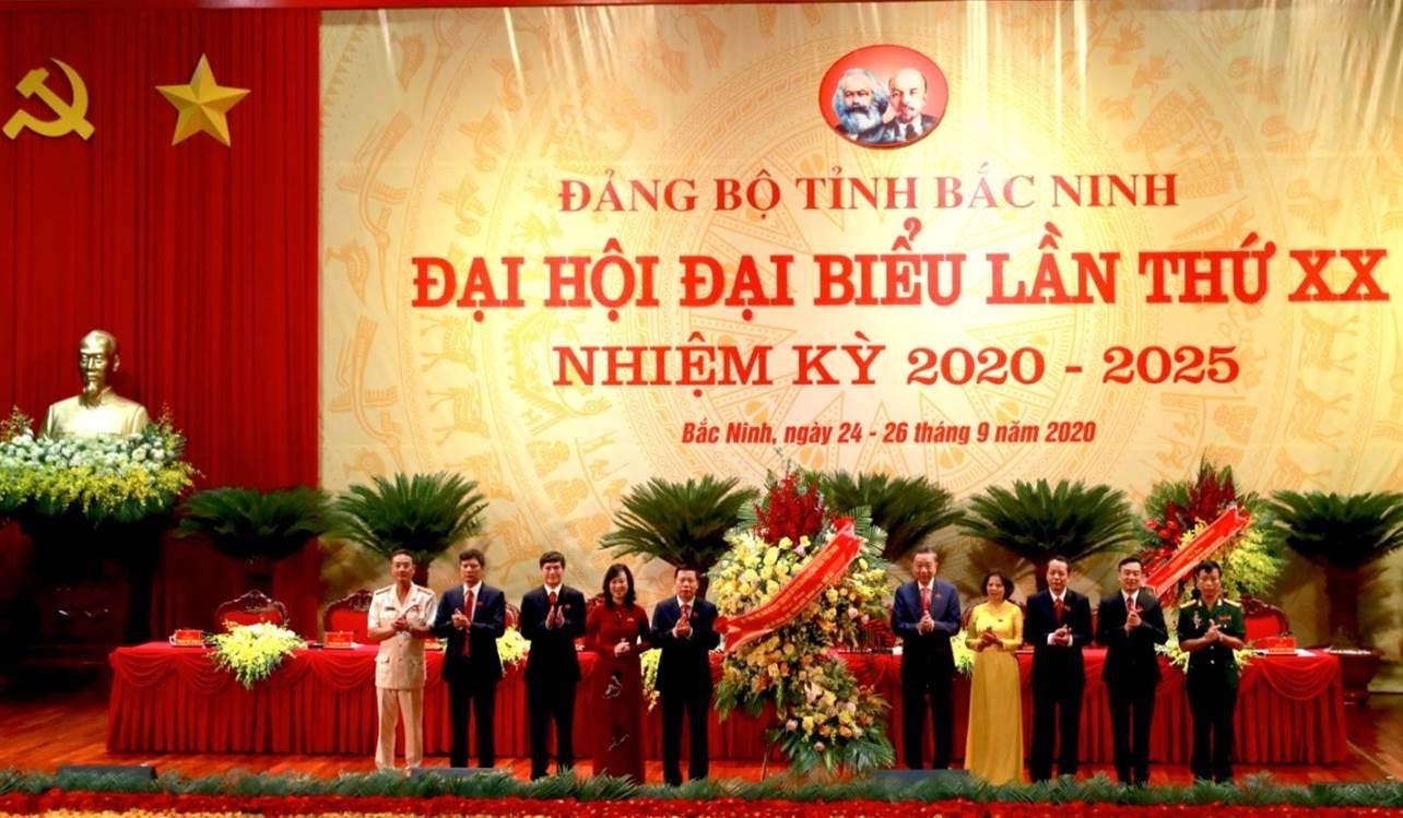 Đại hội đại biểu Đảng bộ tỉnh Bắc Ninh lần thứ XX phát huy sức mạnh đại đoàn kết toàn dân, đẩy mạnh đổi mới - Ảnh 1