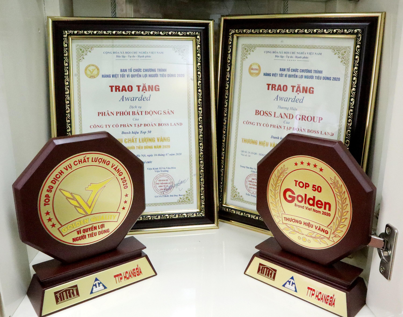"""Tập đoàn Boss Land nhận cú đúp giải thưởng """"Thương hiệu Vàng Việt Nam 2020"""" và  """"Doanh nhân xuất sắc Đất Việt 2020"""" - Ảnh 3"""