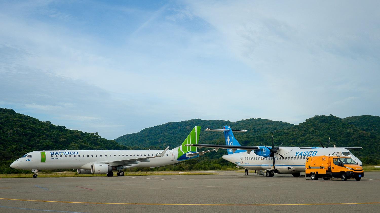 Cận cảnh trải nghiệm dịch vụ Thương gia lần đầu xuất hiện trên đường bay tới Côn Đảo - Ảnh 3