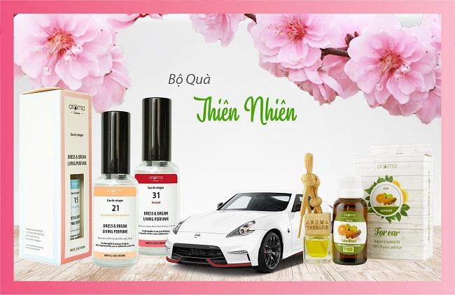 Lan tỏa niềm vui mùa Xuân với nước xịt thơm áo quần, xe hơi cao cấp Aroma - Ảnh 1
