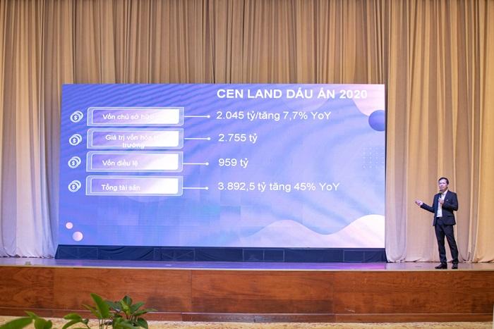 Cen Land (CRE) đặt mục tiêu doanh thu 4.000 tỷ đồng năm 2021 tăng trưởng 89% - Ảnh 1