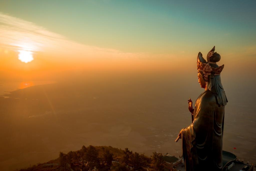 Chiêm ngưỡng tượng Phật Bà cao nhất châu Á trên miền tâm linh Núi Bà kỳ vĩ - Ảnh 3
