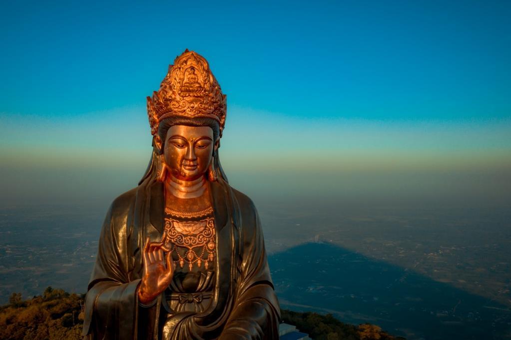 Chiêm ngưỡng tượng Phật Bà cao nhất châu Á trên miền tâm linh Núi Bà kỳ vĩ - Ảnh 4
