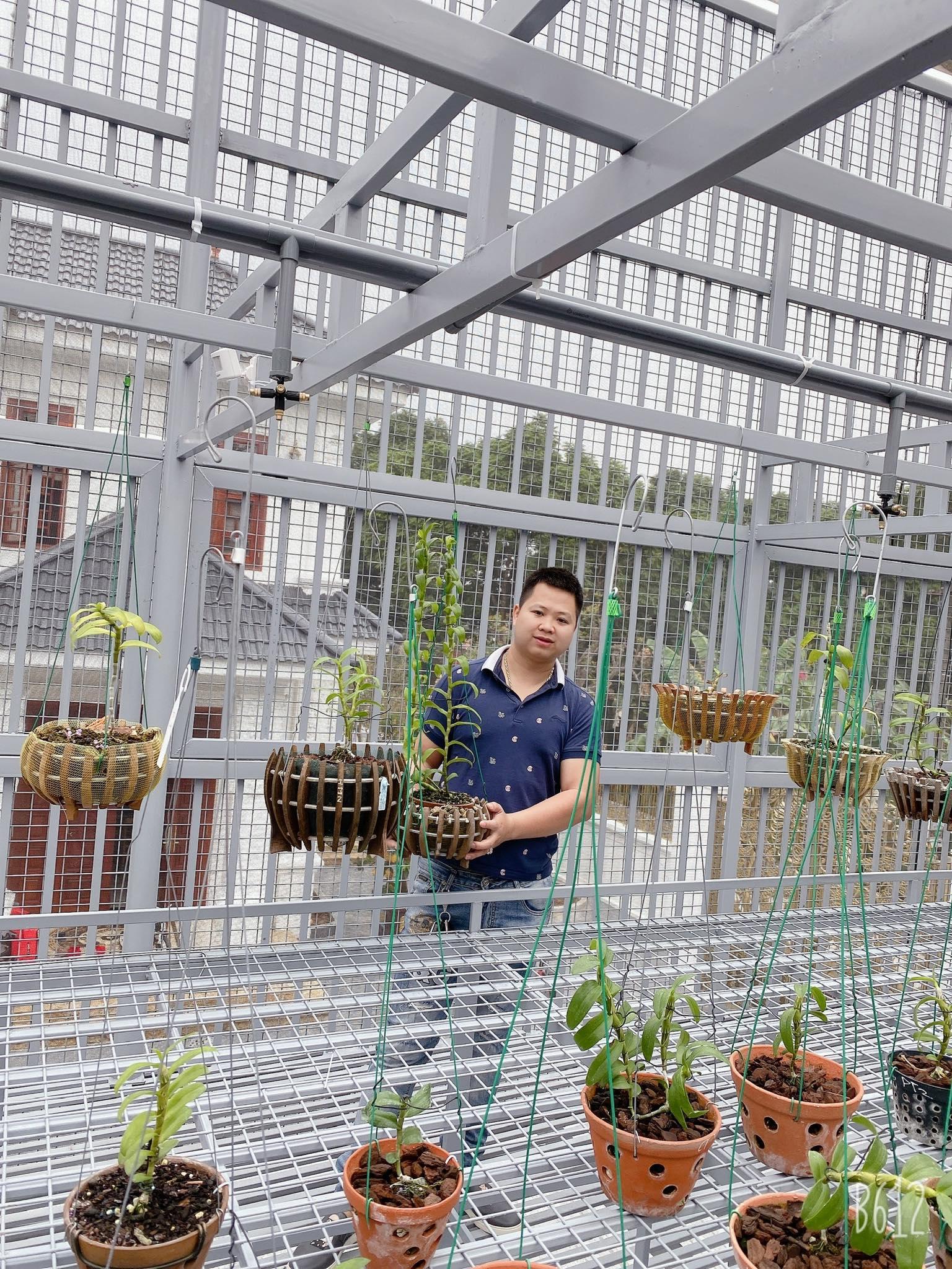 Chàng trai 9X gốc Hà Nam và tình yêu lớn dành cho loài hoa lan - Ảnh 3