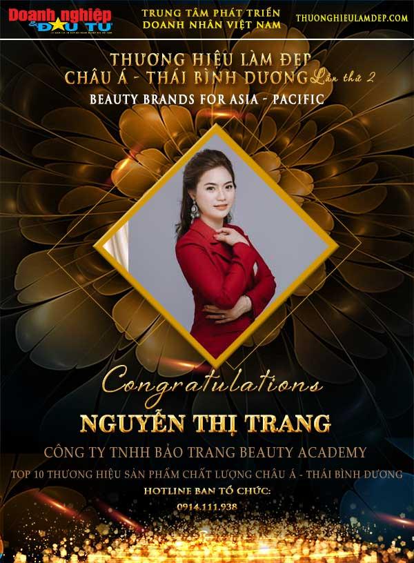 Nguyễn Thị Trang – Người mang đến vẻ đẹp cho phụ nữ Việt - Ảnh 6
