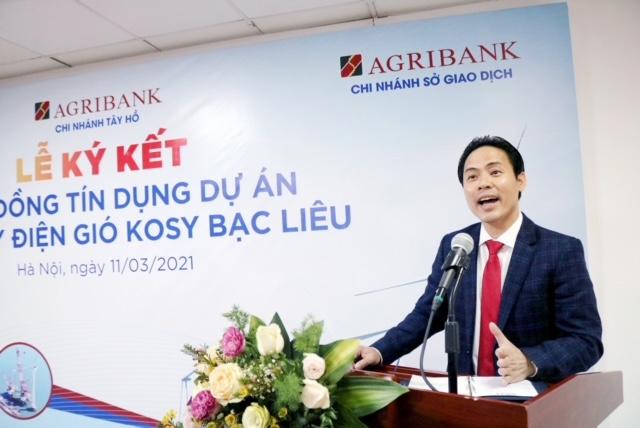 Ngân hàng Agribank tài trợ tín dụng 1.000 tỷ đồng cho dự án Nhà máy Điện gió Kosy Bạc Liêu - Ảnh 3