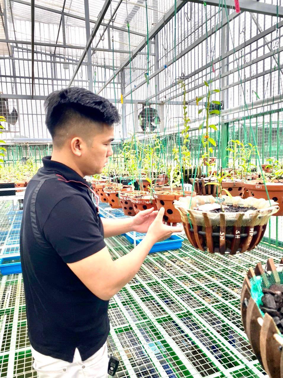 Chàng trai Đức Đại Phát và hành trình chinh phục hoa phong lan - Ảnh 1