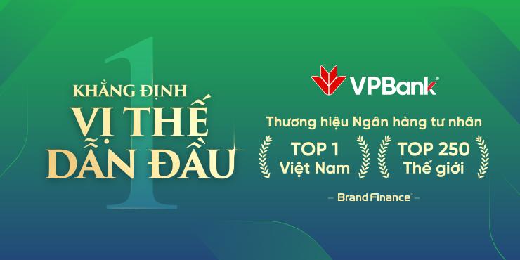 Cú bứt phá ngoạn mục của thương hiệu VPBank - Ảnh 1