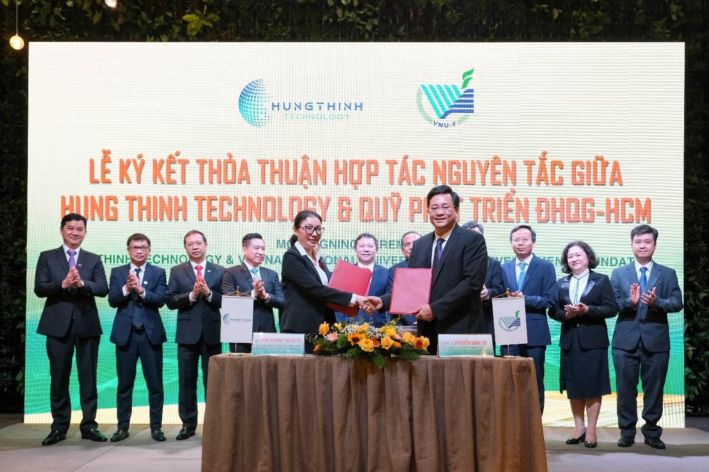 Tập đoàn Hưng Thịnh và Đại Học Quốc Gia TP.HCM ký kết hợp tác chiến lược - Ảnh 2