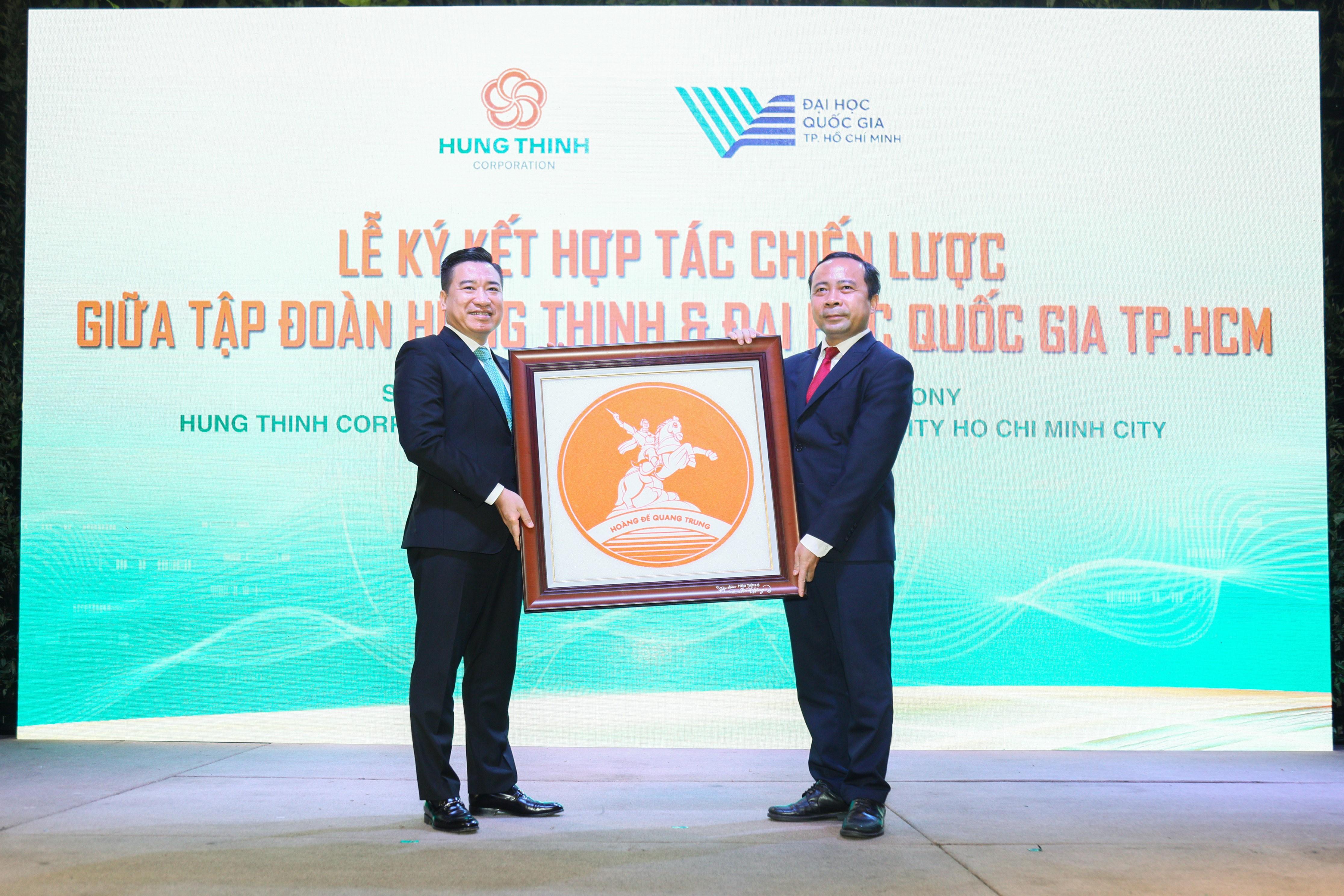 Tập đoàn Hưng Thịnh và Đại Học Quốc Gia TP.HCM ký kết hợp tác chiến lược - Ảnh 5