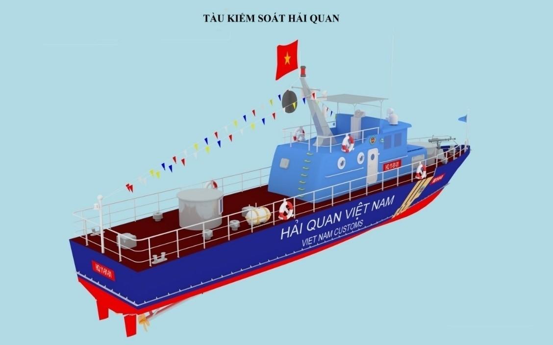 Bộ nhận diện mới của ngành Hải quan Việt Nam - Ảnh 4