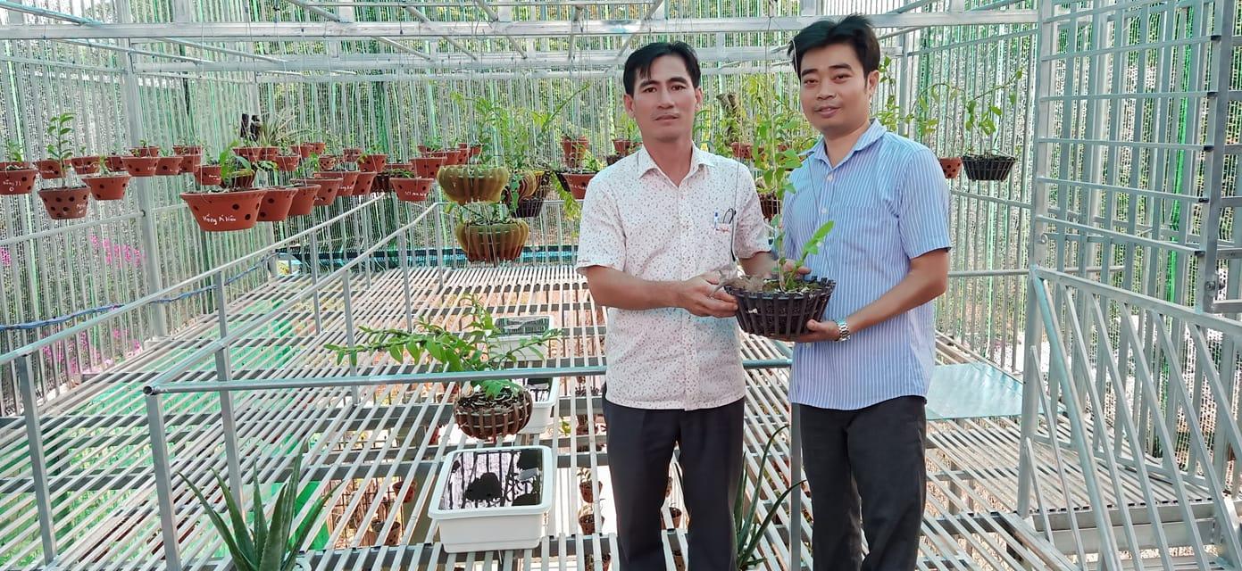 Ông chủ vườn lan 8X Nguyễn Hữu Tân và mơ ước về một vườn lan trăm loài - Ảnh 2