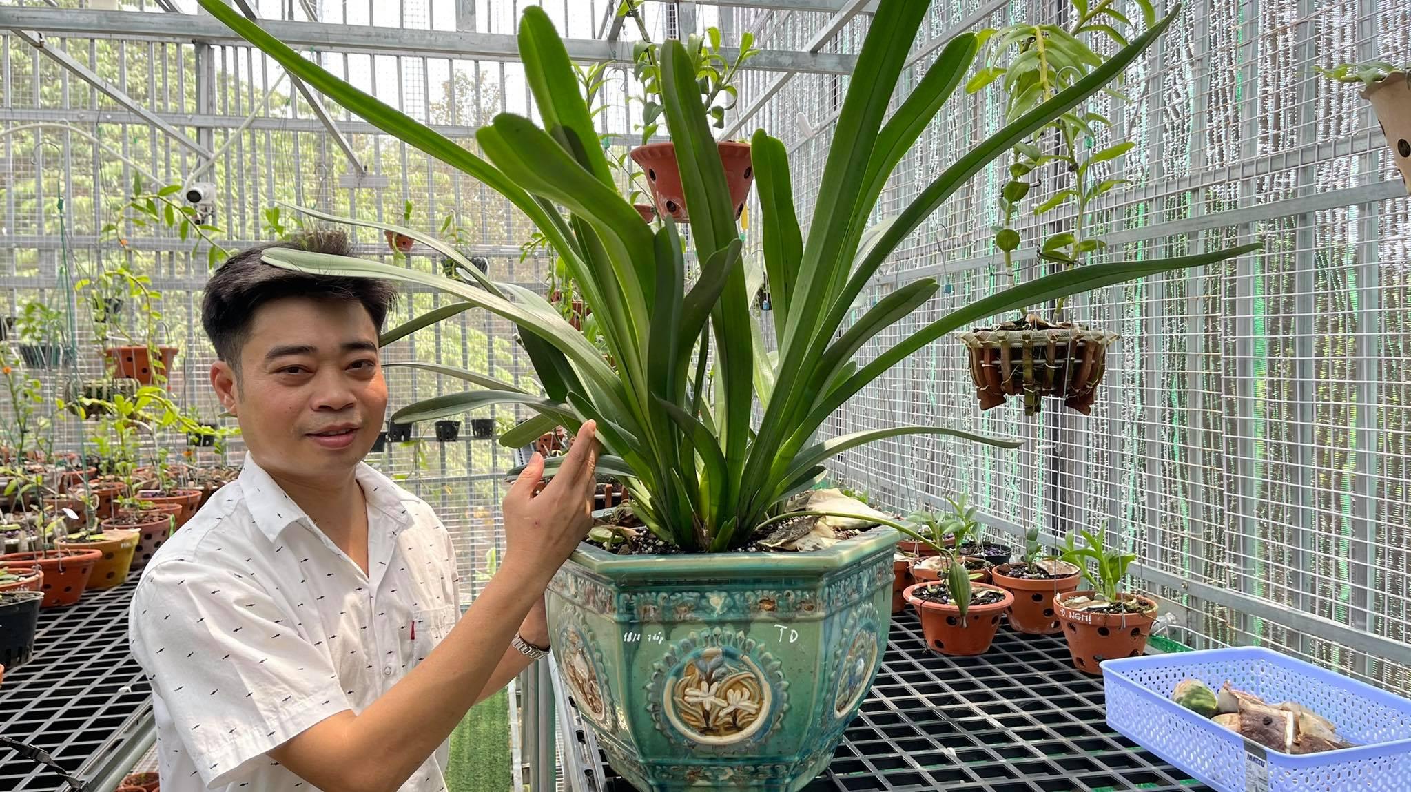 Ông chủ vườn lan 8X Nguyễn Hữu Tân và mơ ước về một vườn lan trăm loài - Ảnh 7
