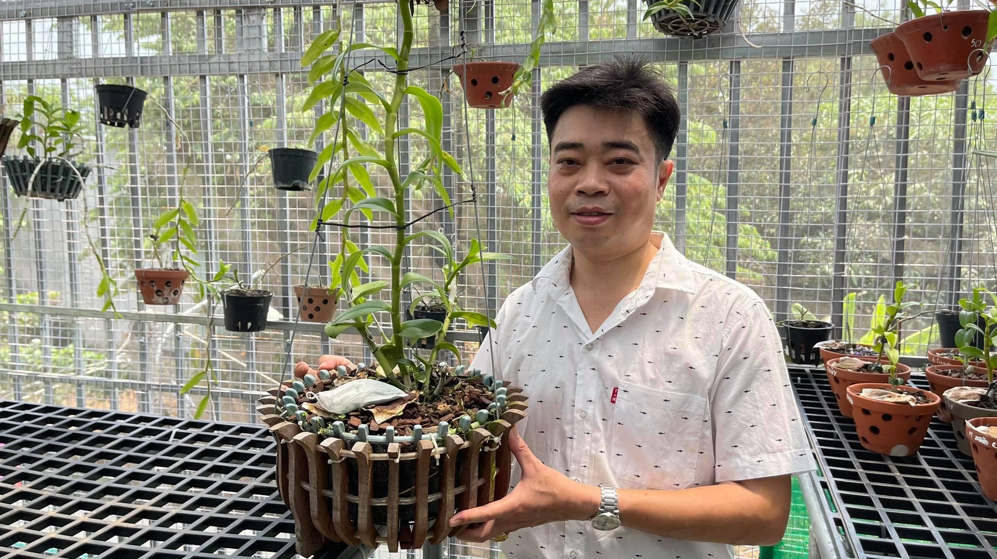 Ông chủ vườn lan 8X Nguyễn Hữu Tân và mơ ước về một vườn lan trăm loài - Ảnh 4