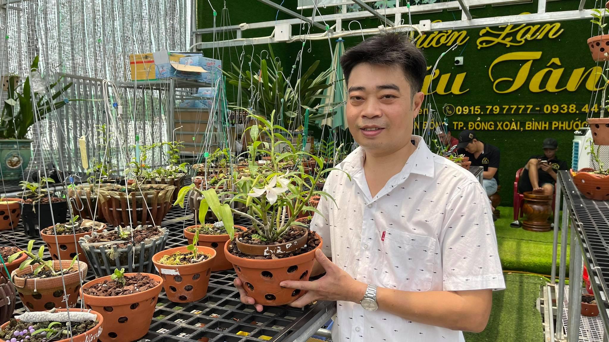 Ông chủ vườn lan 8X Nguyễn Hữu Tân và mơ ước về một vườn lan trăm loài - Ảnh 3