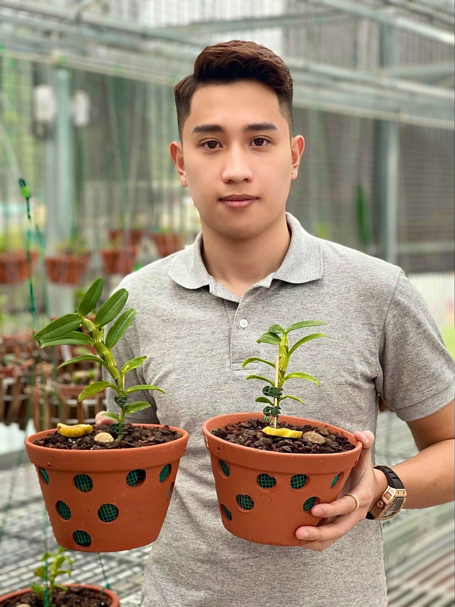 Ông chủ vườn lan 9X Trần Hồ Quang chia sẻ cơ duyên, được quý nhân giúp đỡ - Ảnh 1