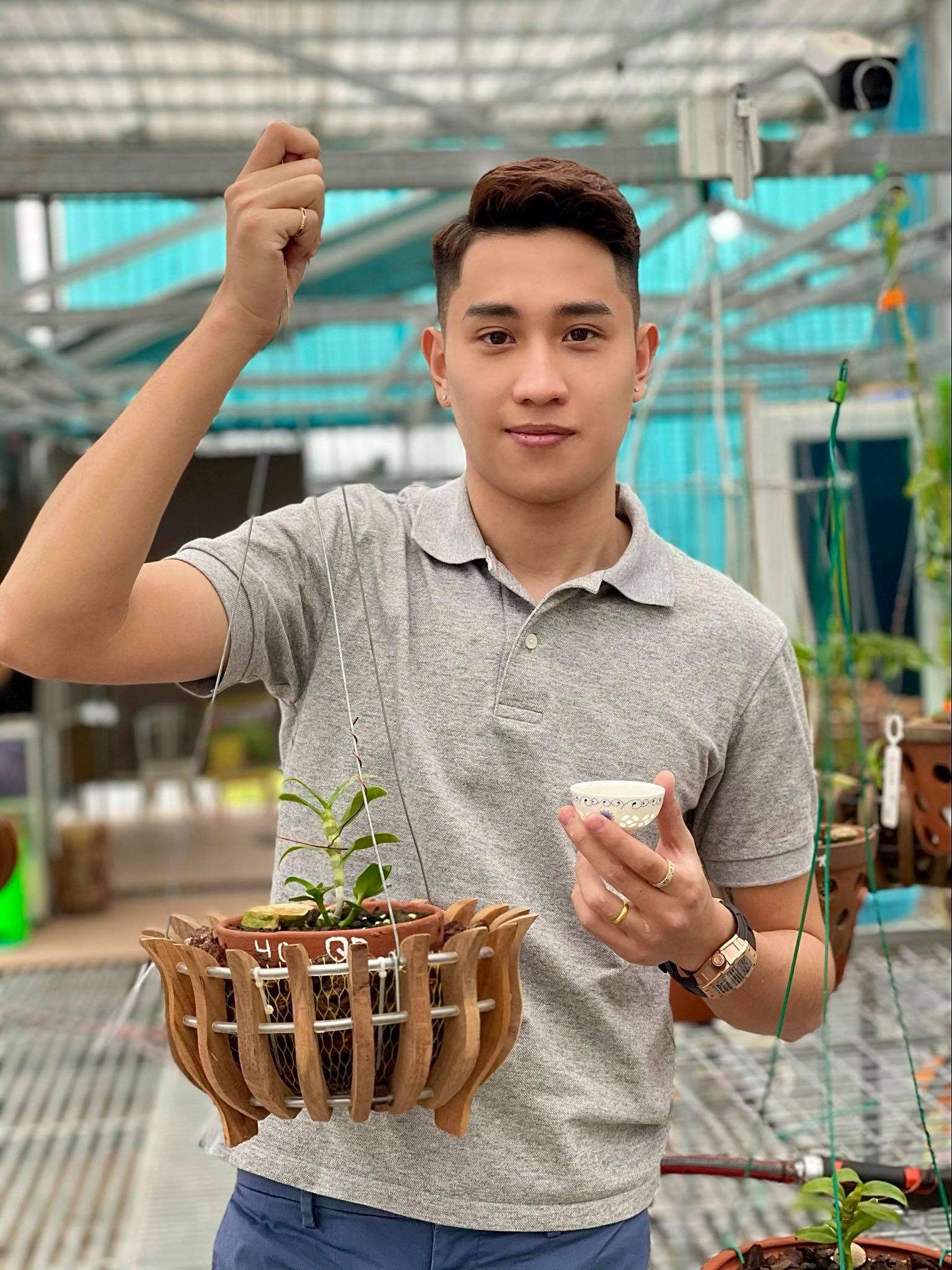 Ông chủ vườn lan 9X Trần Hồ Quang chia sẻ cơ duyên, được quý nhân giúp đỡ - Ảnh 2