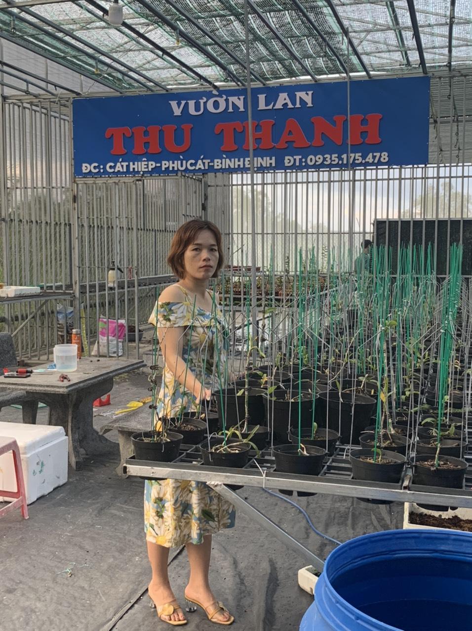 Bà chủ vườn lan Thu Thanh: Quyết tâm chinh phục loài lan kiêu kỳ - Ảnh 1