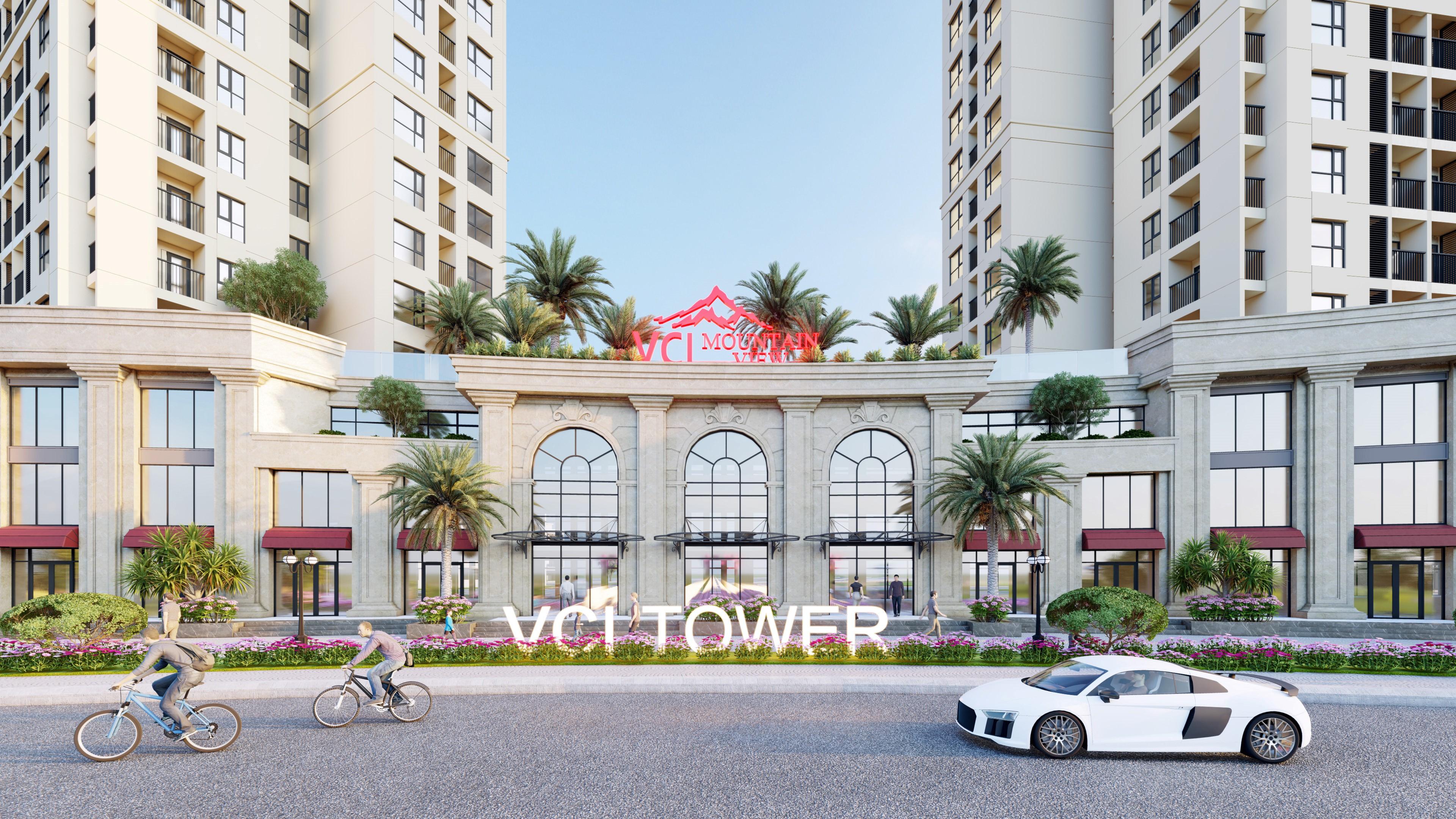 Đất Xanh Miền Bắc độc quyền phân phối khối đế thương mại VCI Tower Vĩnh Yên - Ảnh 2