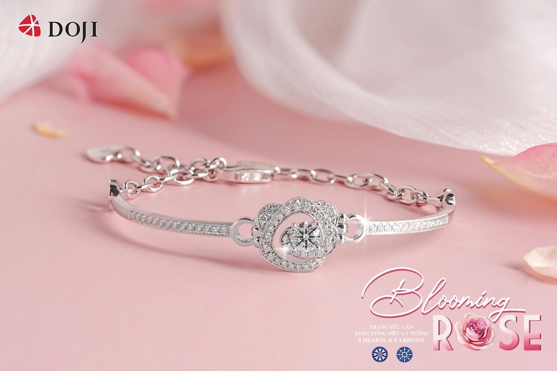 Lương Thu Trang đẹp rạng rỡ với Trang sức kim cương DOJI - Ảnh 6