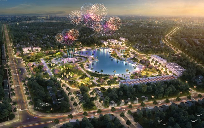 Fidel Central Park kiến tạo nên phố kinh doanh sầm uất tại Quảng Trị - Ảnh 1