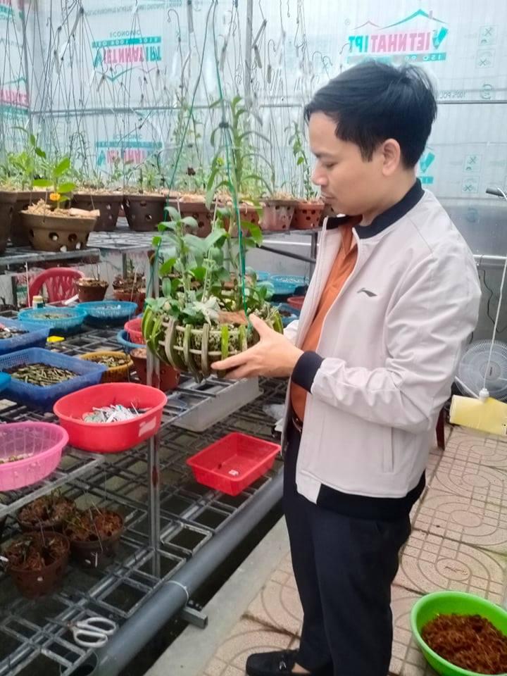 Ông chủ vườn lan 7X Mạnh Hùng và thành công từ đam mê hoa lan - Ảnh 3