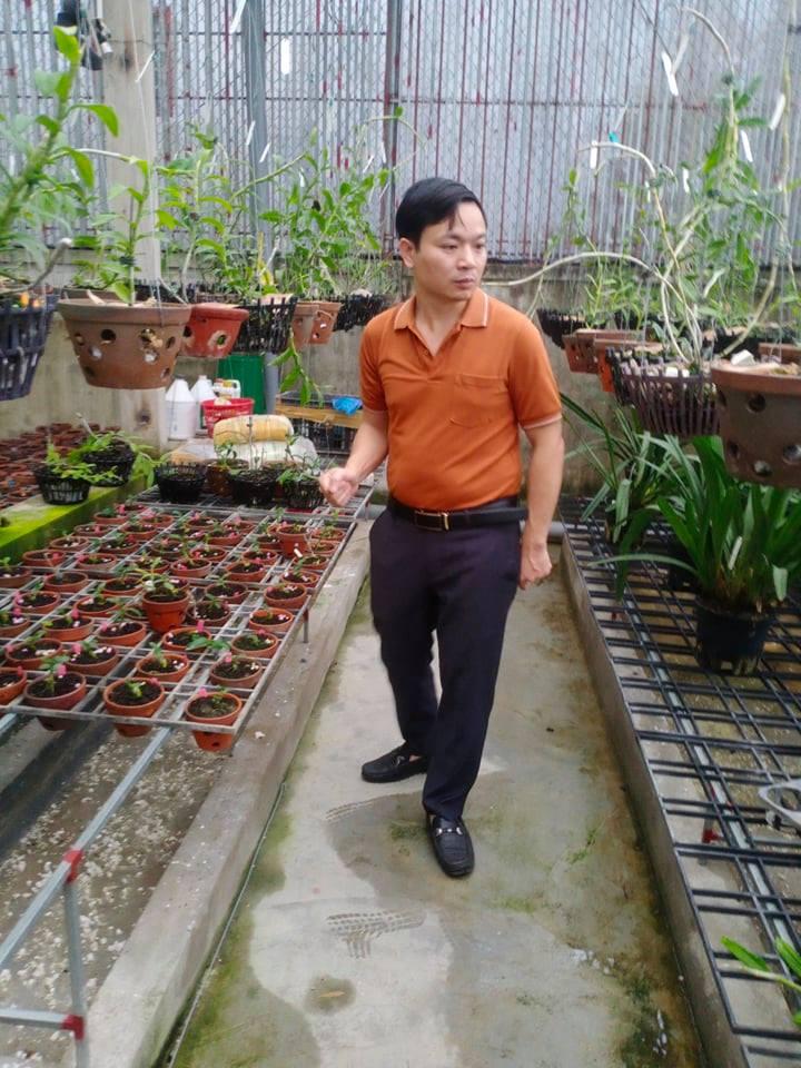 Ông chủ vườn lan 7X Mạnh Hùng và thành công từ đam mê hoa lan - Ảnh 2