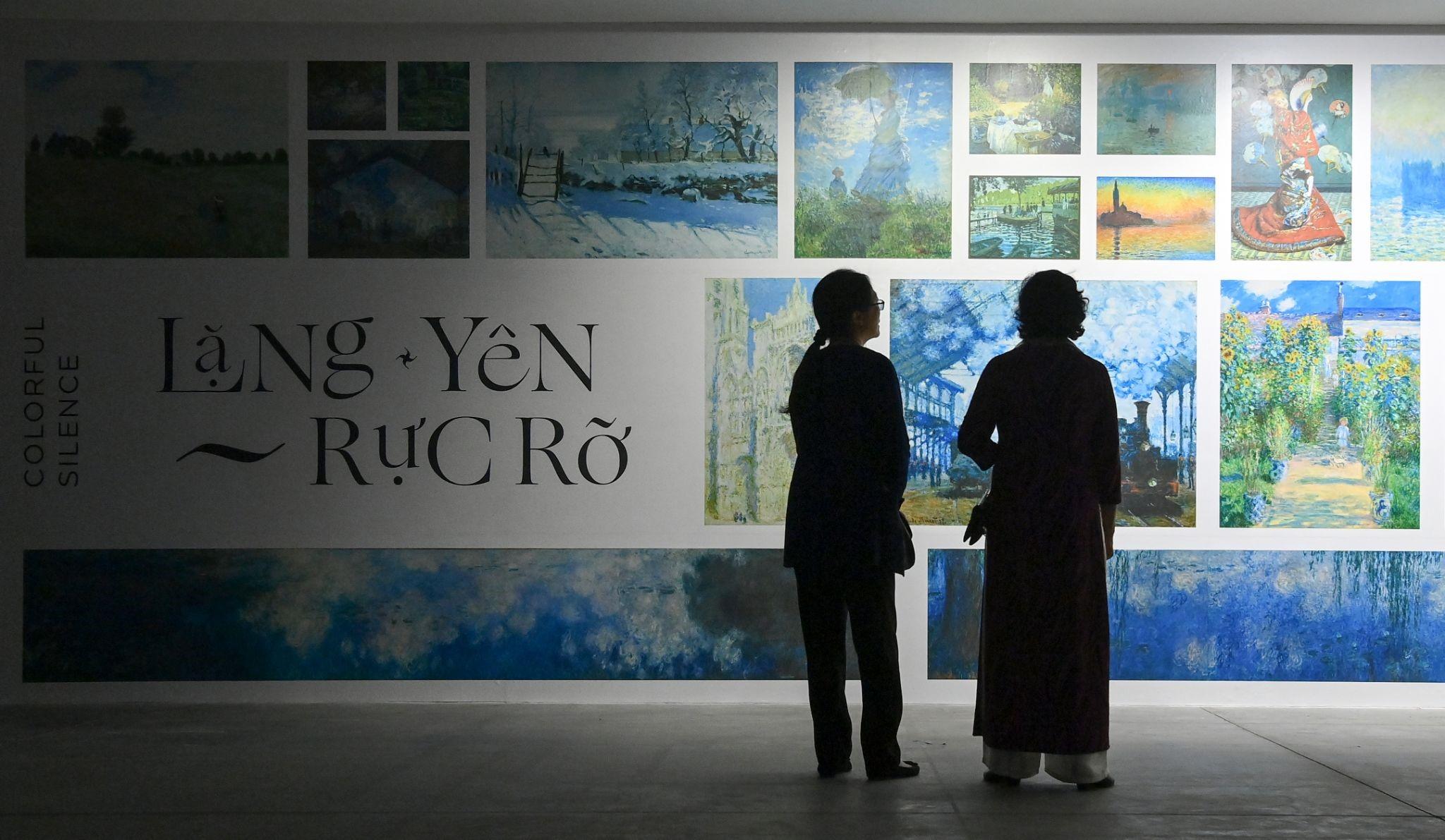 """""""Ngoài"""" và """"trong"""" ở triển lãm của Claude Monet và Pierre Bonnaer tại VCCA  - Ảnh 1"""