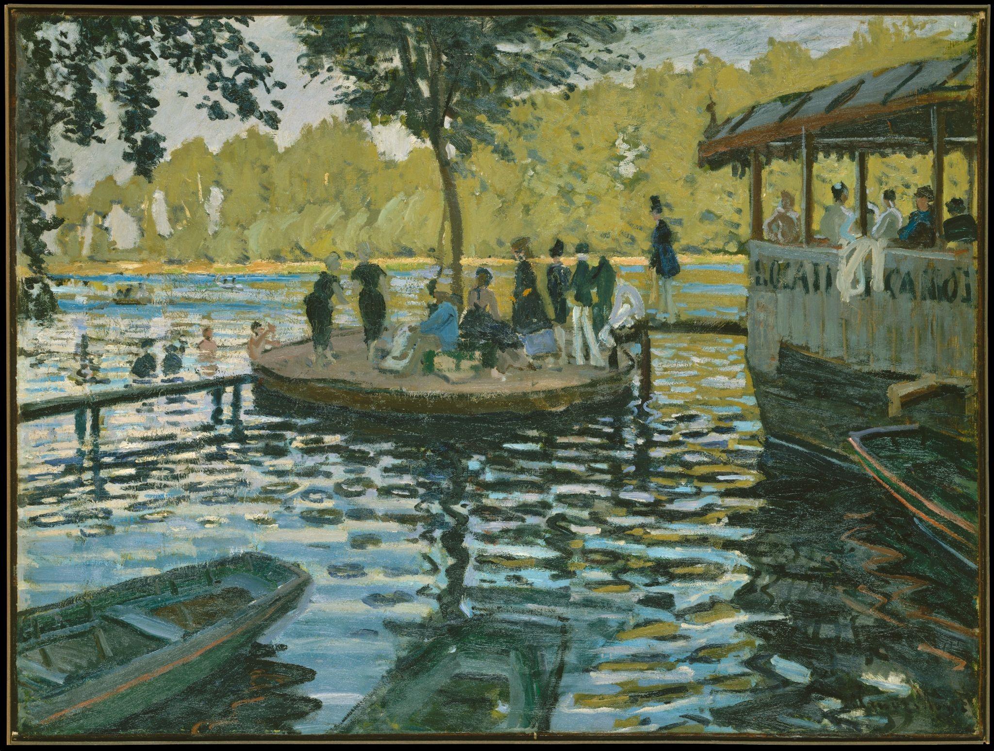 """""""Ngoài"""" và """"trong"""" ở triển lãm của Claude Monet và Pierre Bonnaer tại VCCA  - Ảnh 3"""