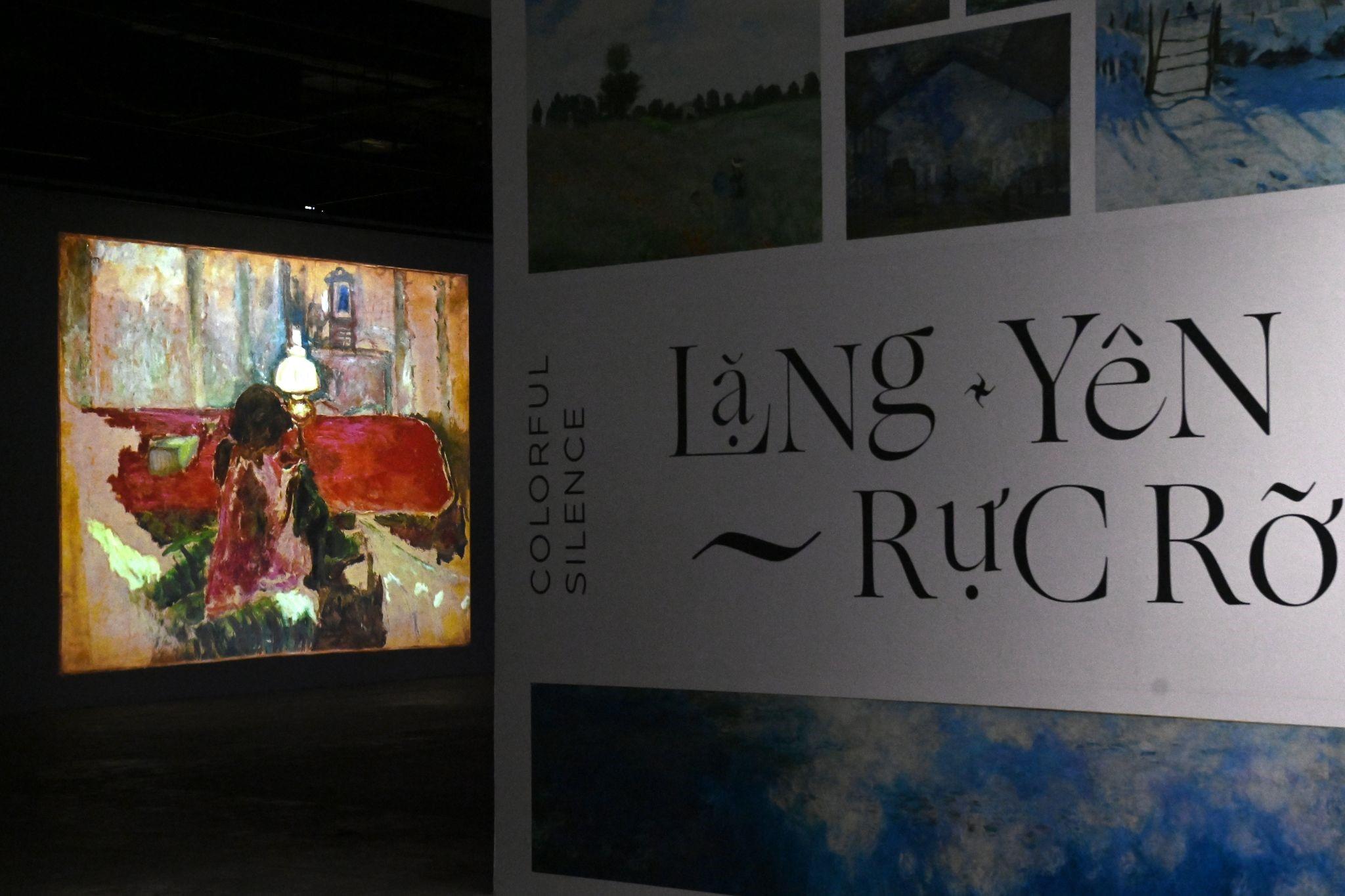 """""""Ngoài"""" và """"trong"""" ở triển lãm của Claude Monet và Pierre Bonnaer tại VCCA  - Ảnh 7"""