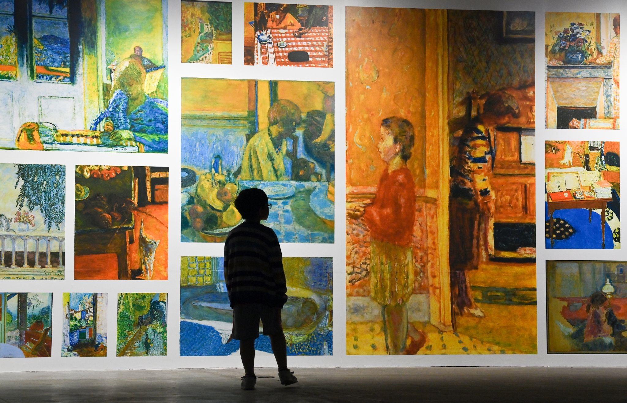 """""""Ngoài"""" và """"trong"""" ở triển lãm của Claude Monet và Pierre Bonnaer tại VCCA  - Ảnh 8"""