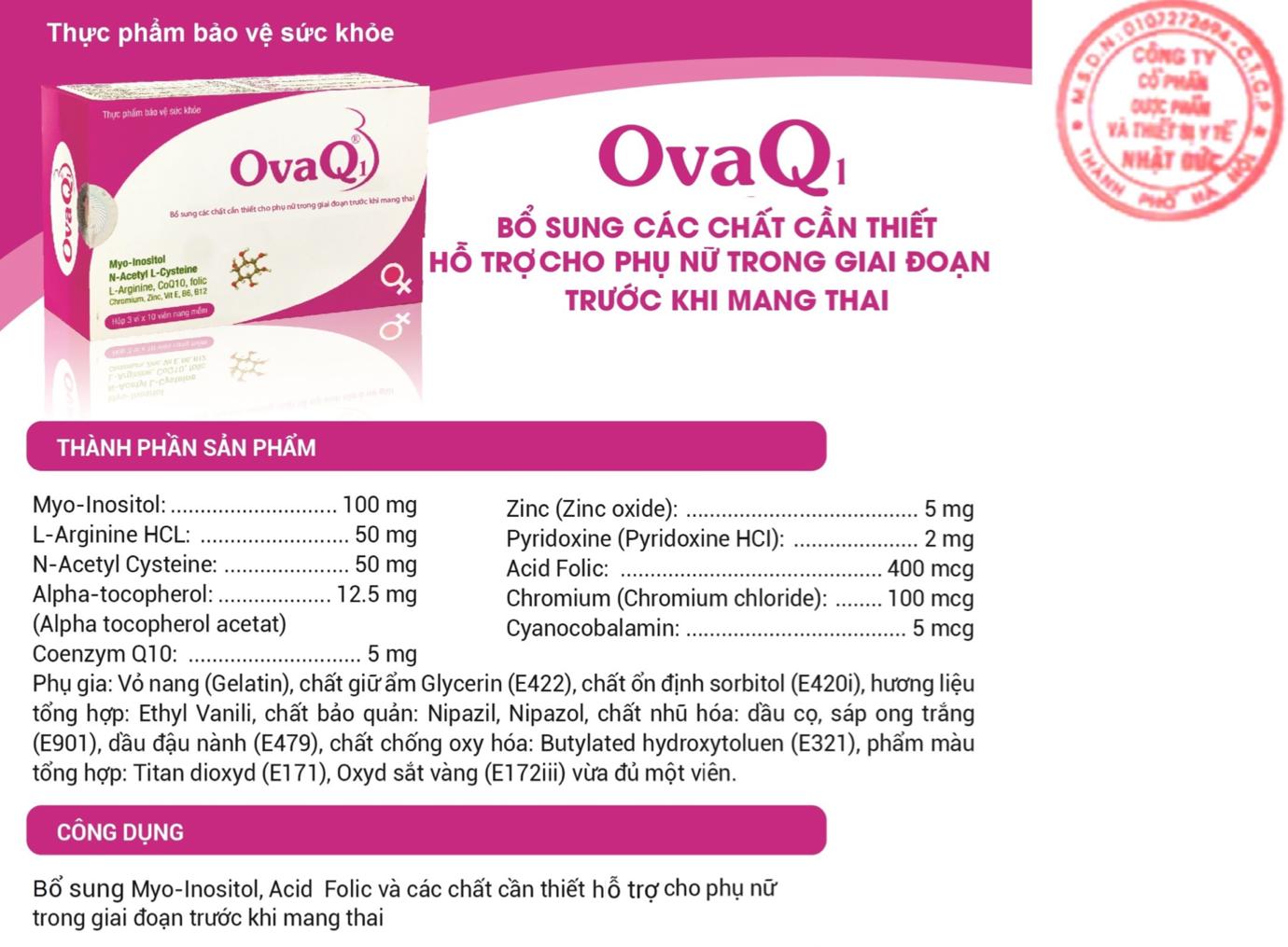 TPBVSK SpermQ – OvaQ1: Quảng cáo lừa dối người tiêu dùng? - Ảnh 4