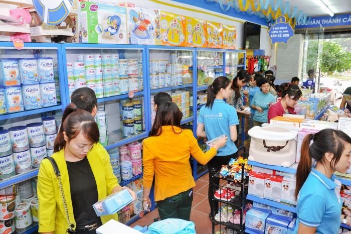 Kids Plaza: Bán sữa Meiji nội địa không tem nhãn phụ - Ảnh 1