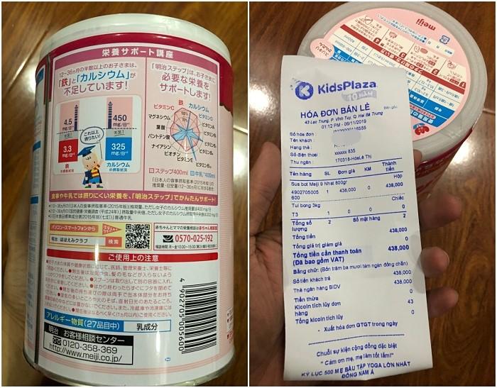 Kids Plaza: Bán sữa Meiji nội địa không tem nhãn phụ - Ảnh 3